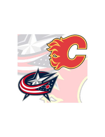 Bizarro Game Day Matchup: Video Flames at Video Blue Jackets