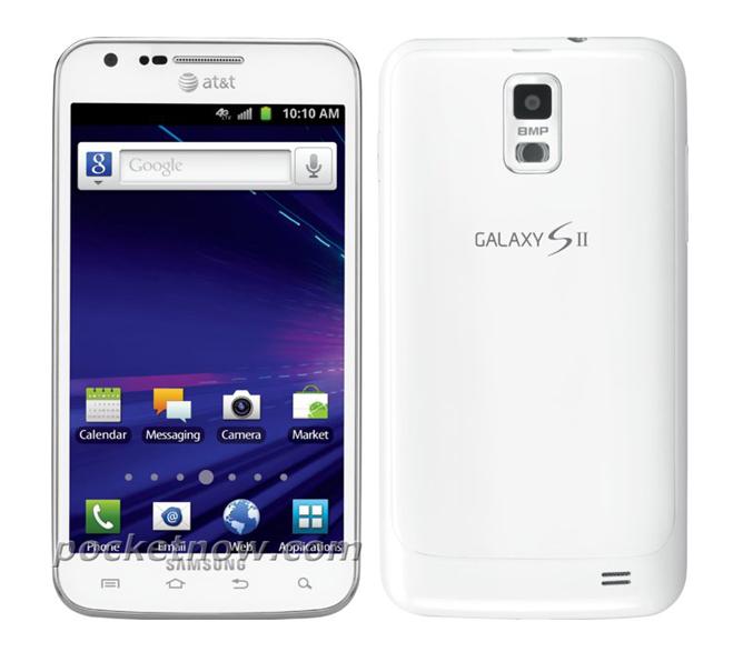 Samsung Galaxy S II Skyrocket White PocketNow