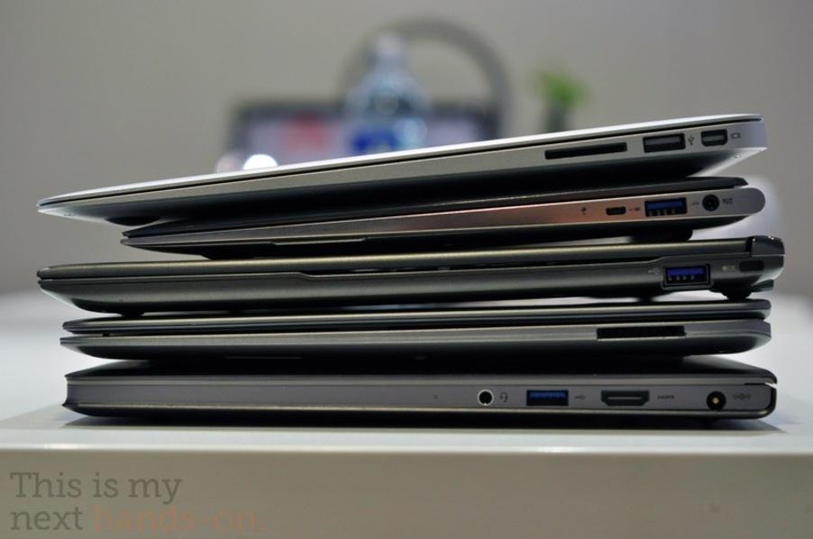 MacBook Air and Ultrabook comparison