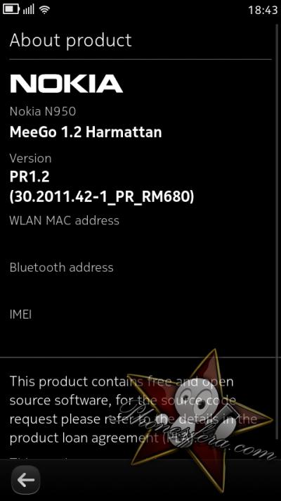MeeGo PR1.2 screenshot