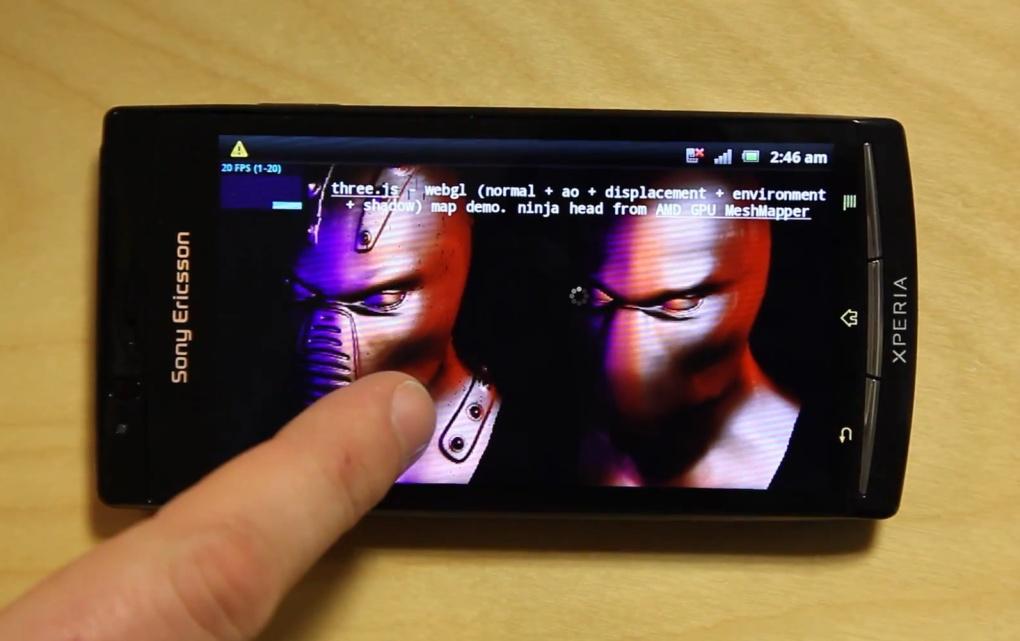 Sony Ericsson WebGL 1020