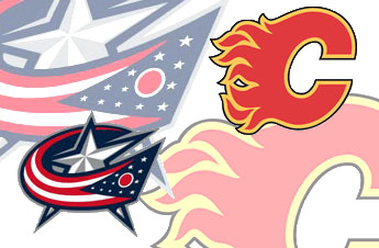 Bizarro Game Day Matchup: Video Blue Jackets vs. Video Flames