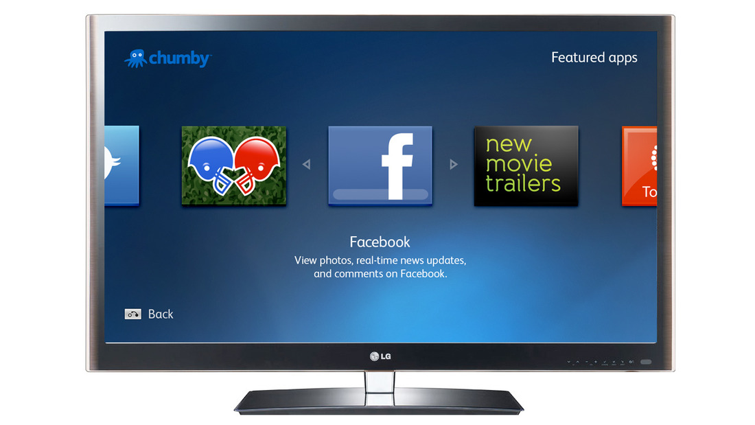 Chumby on LG Smart TV