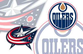 Bizarro Game Day Matchup 26: Video Blue Jackets at Video Oilers