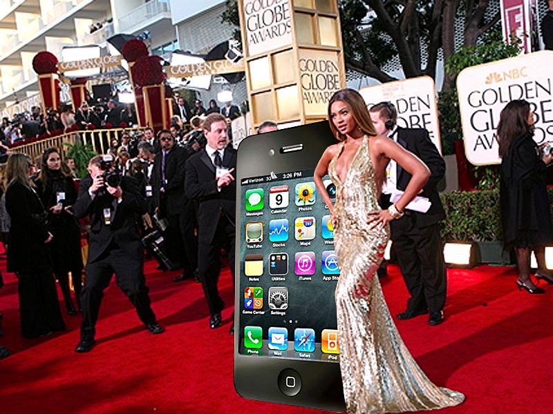 iPhone 4 red carpet