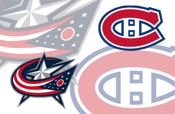 Today's Bizarro Matchup: Video Blue Jackets at Video Canadiens