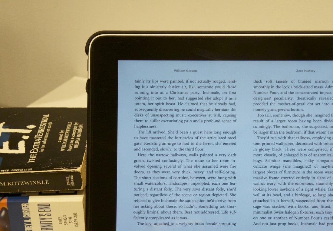 iPad iBooks update