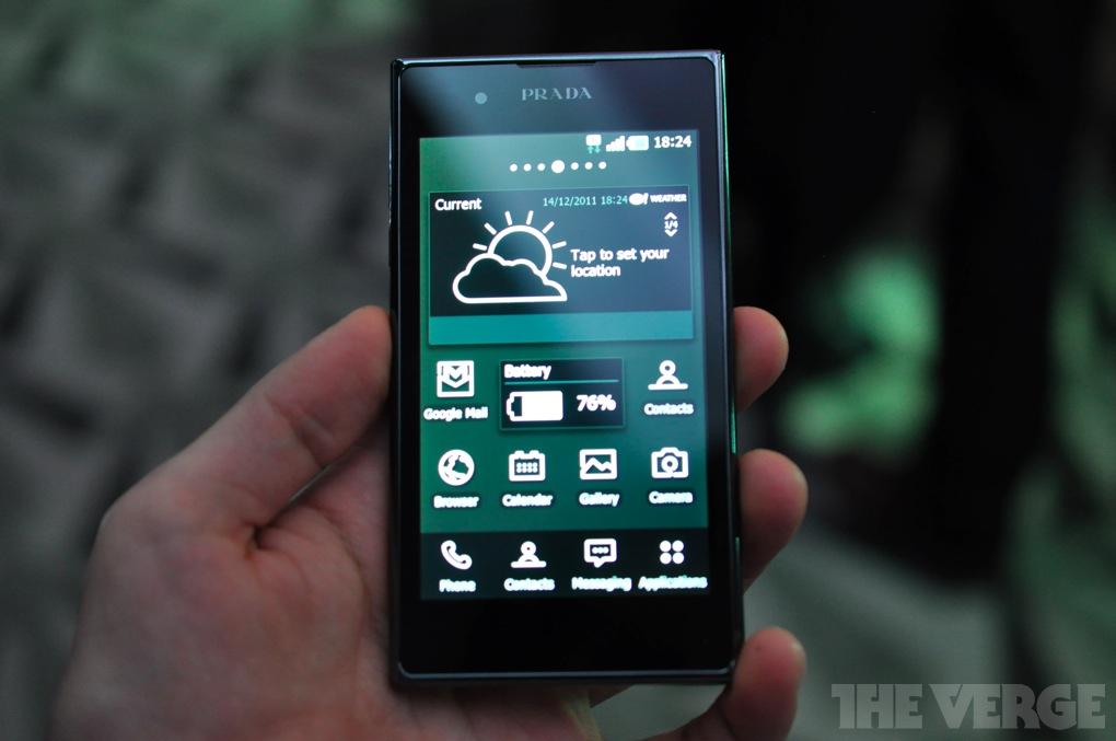 1a7baf9d8ac2 LG Prada Phone 3.0 now available in Korea
