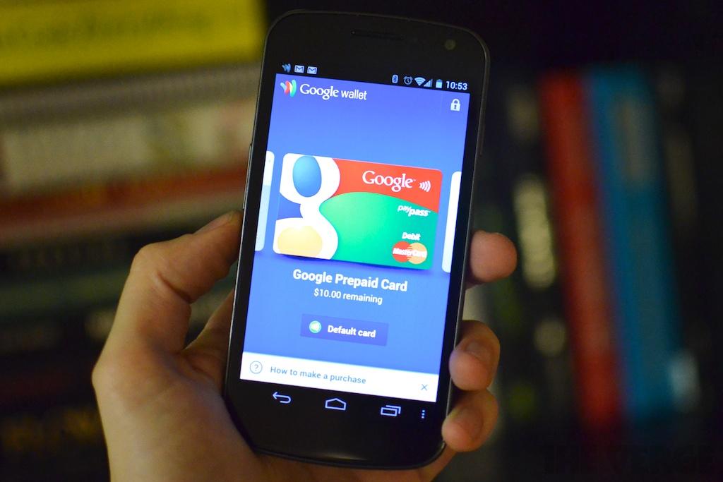 Google Wallet Galaxy Nexus 1024