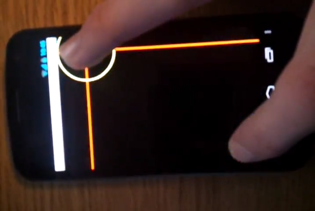 Gnex multitouch issues