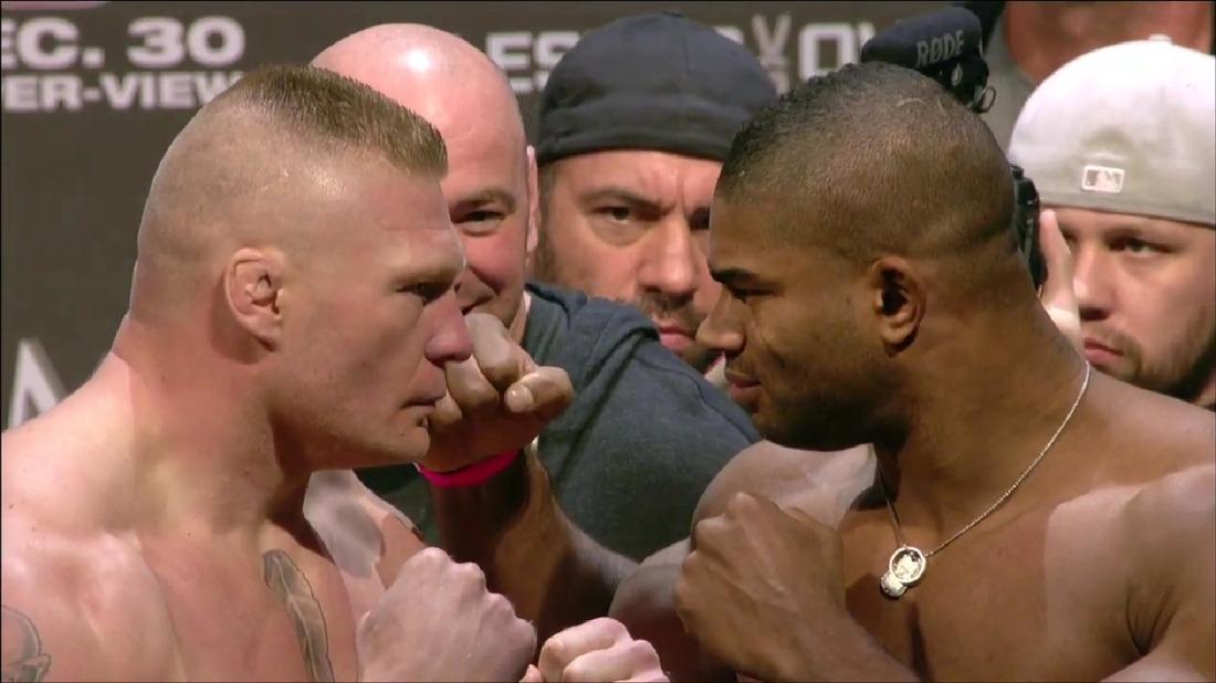 UFC 141 weigh-in
