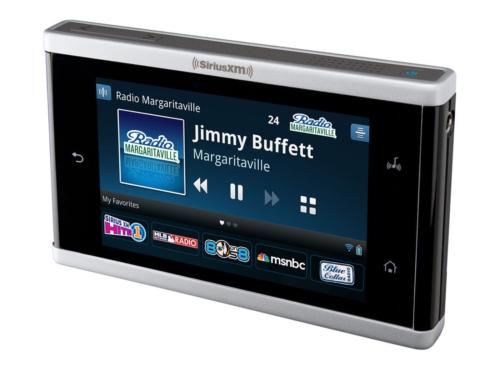 Sirius XM Lynx portable radio
