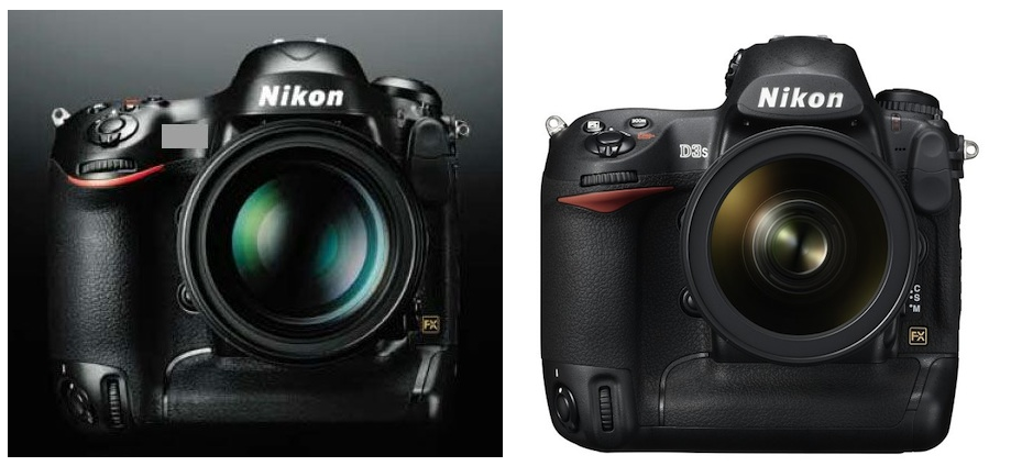 Nikon D4 D3 comparison RUMOR Nikon Rumors