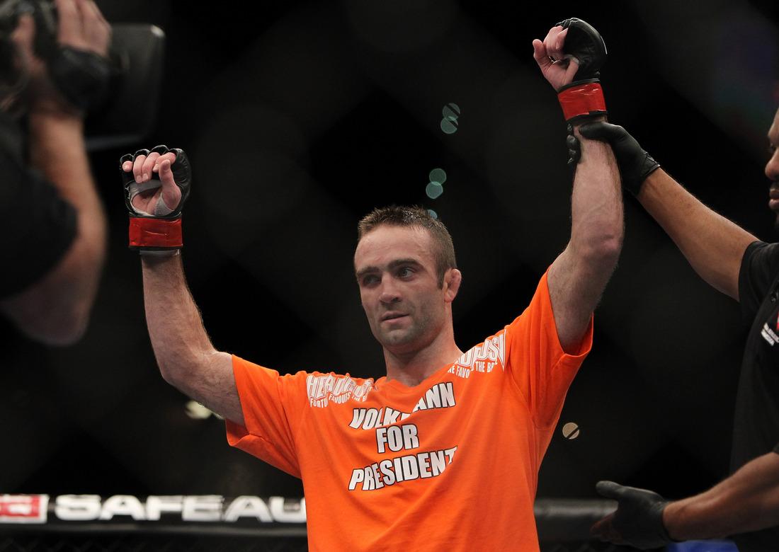 Jacob Volkmann for President UFC 141