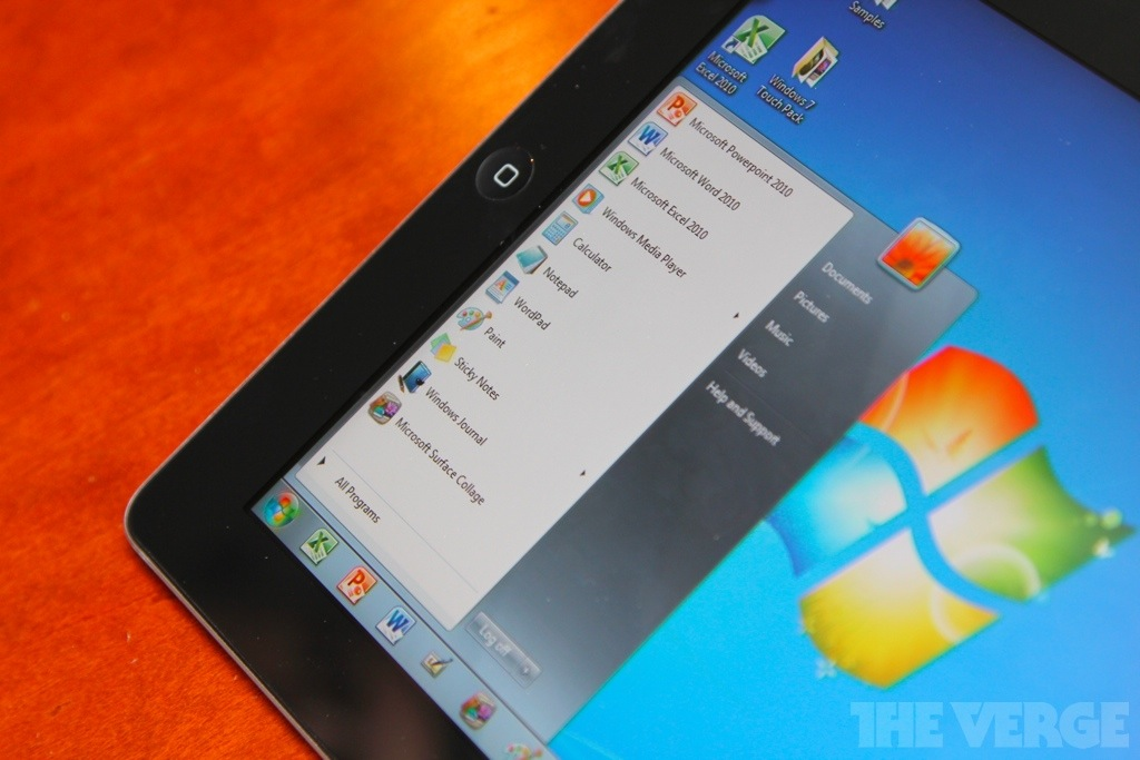 Gallery Photo: OnLive Cloud Desktop hands-on pictures
