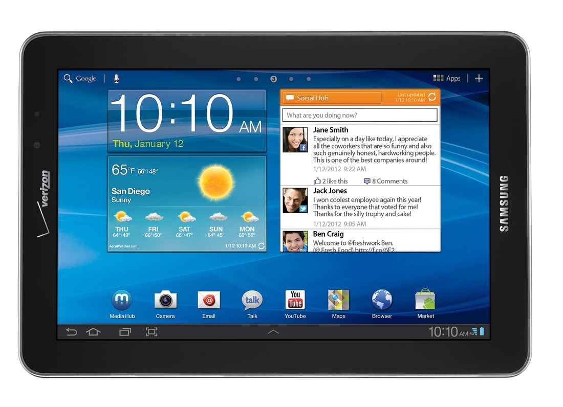 Gallery Photo: Samsung Galaxy Tab 7.7 for Verizon press pictures