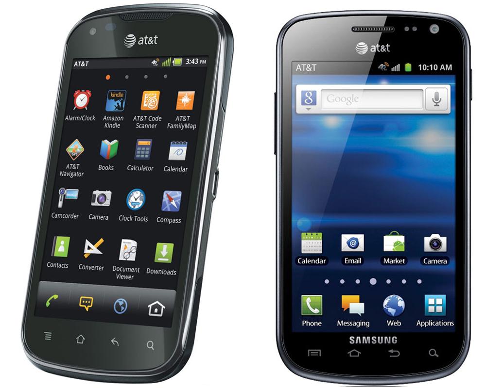 Pantech Burst Samsung Exhiliarate