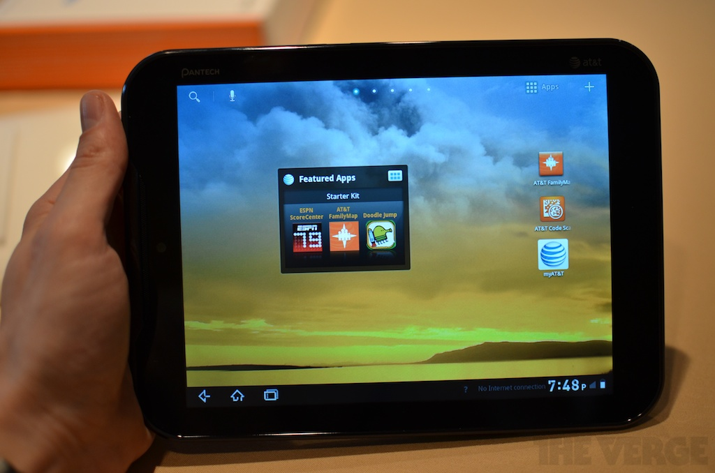 Gallery Photo: Pantech Element 8-inch tablet hands-on pictures