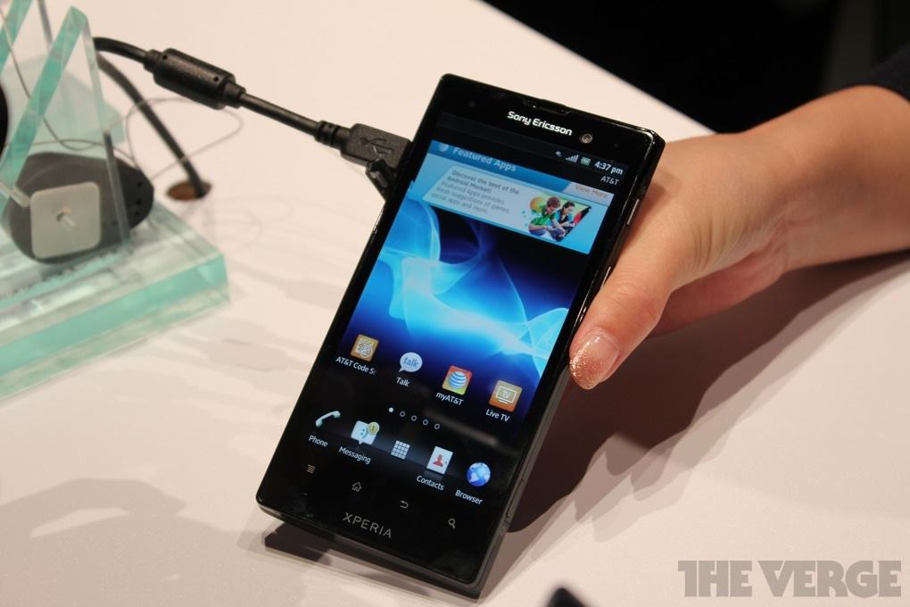 Gallery Photo: Sony Ericsson Ion hands-on photos