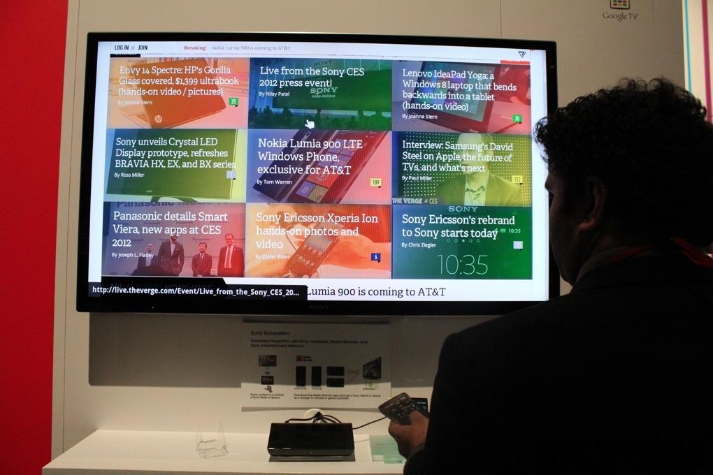 Gallery Photo: Sony Google TV hands-on