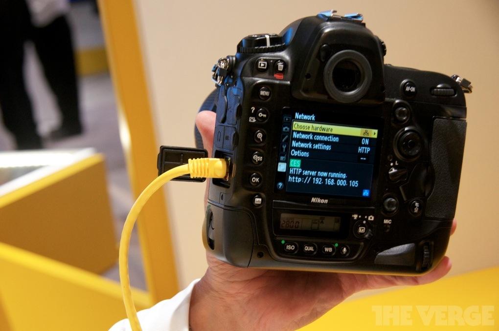 Nikon D4 Network controls
