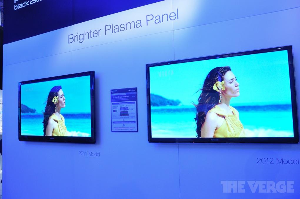 Gallery Photo: Panasonic 2012 Smart Viera plasma CES booth