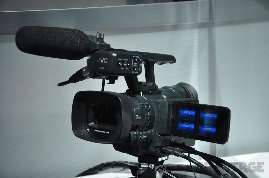 JVC 4K camcorder