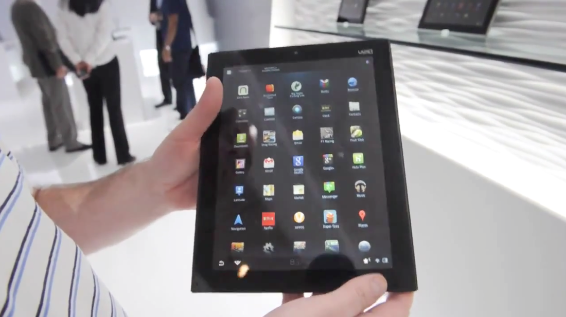 Vizio 10-inch tablet preview