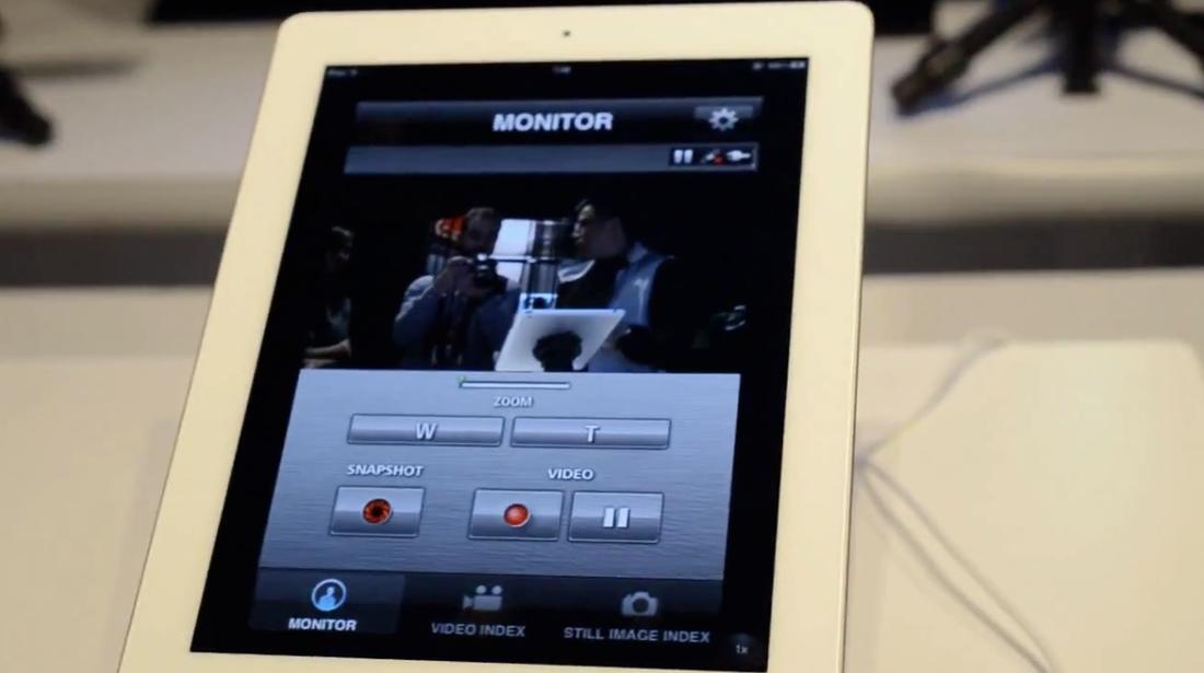 JVC's Live Monitoring