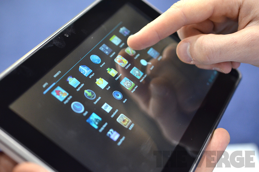 Gallery Photo: WikiPad glasses-free 3D Android 4.0 tablet developer kit hands-on photos