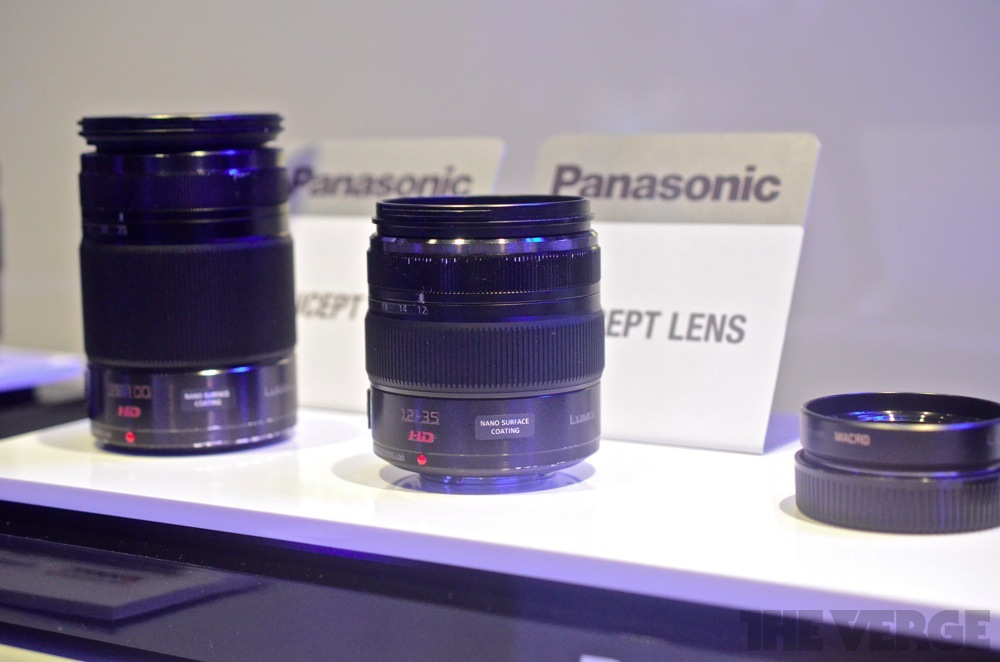 Panasonic concept lenses