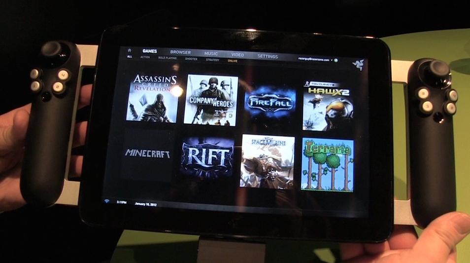 Razer Project Fiona hands-on video demo
