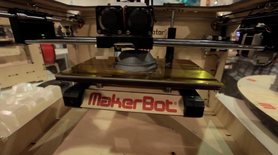 Makerbot Replicator hands-on