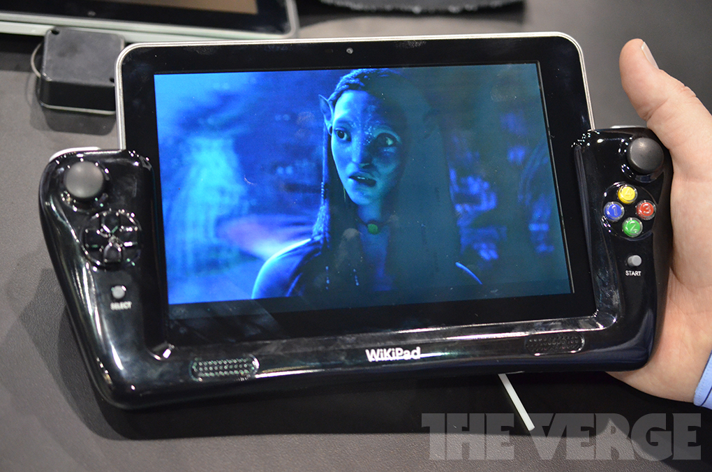 Gallery Photo: WikiPad:3D glasses-free Android 4.0 tablet developer kit (hands-on photos)