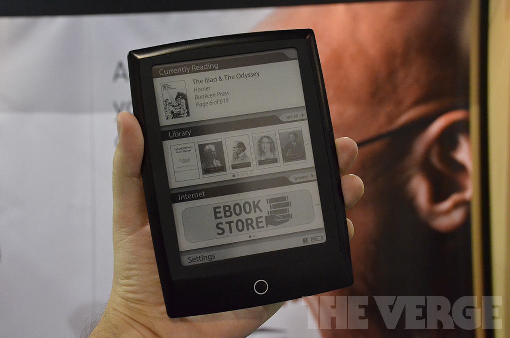 Gallery Photo: Bookeen Cybook Odyssey e-reader hands-on photos