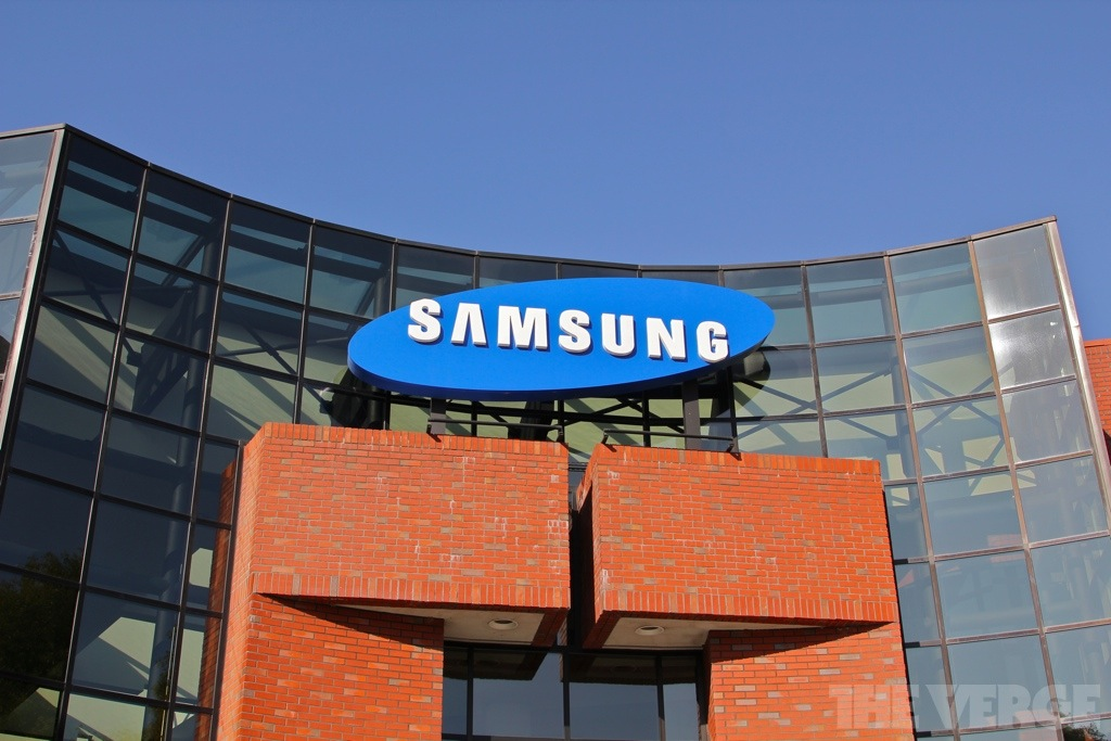 Samsung Semiconductor logo HQ San Jose stock 1024