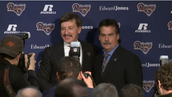 St. Louis Rams owner Stan Kroenke introduces his new head coach, Jeff Fisher.