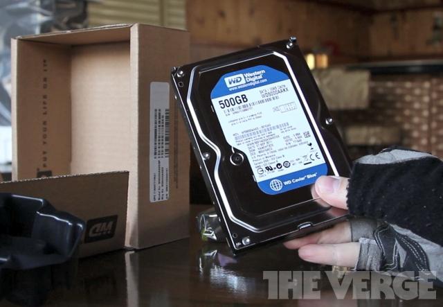 WD hard drive 500GB stock 640