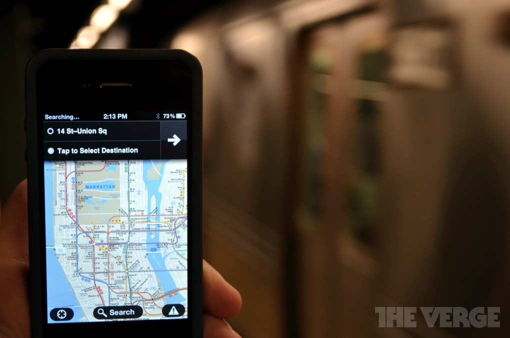 Embark NYC iOS app