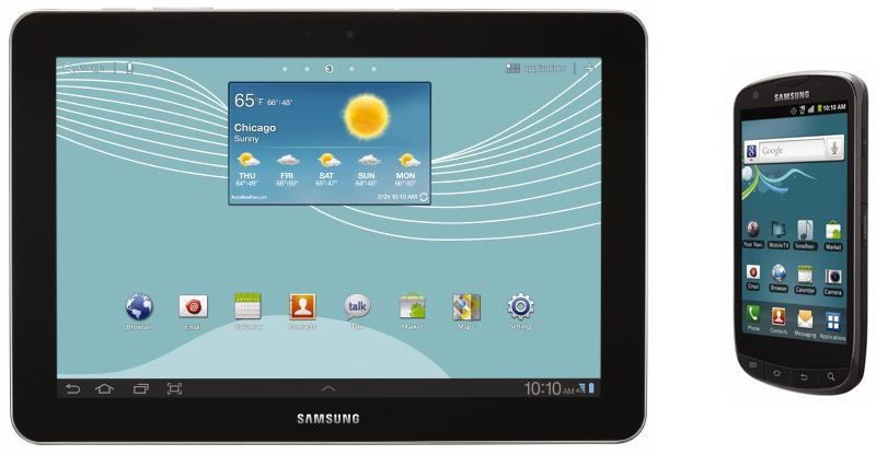 US Cellular Galaxy Tab 10.1 and Galaxy S Aviator
