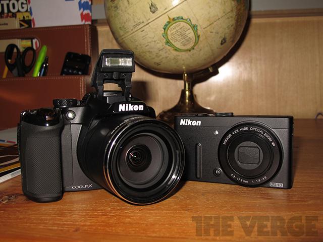 Nikon P510 and P310 group photo