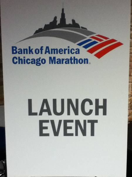 Chicago Marathon Kickoff
