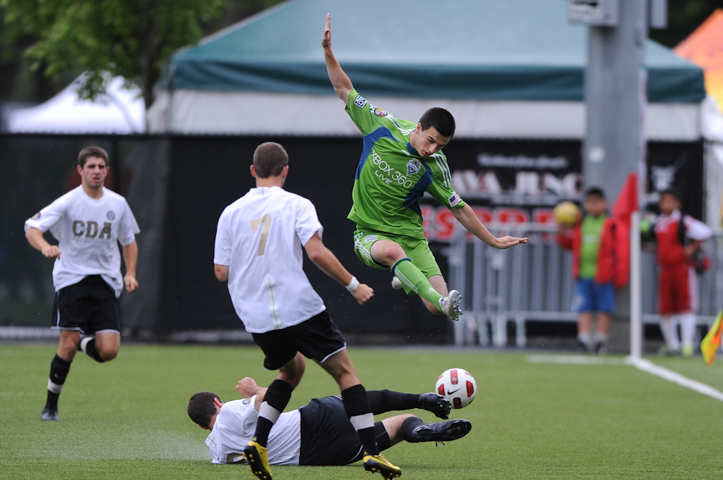 """Aaron Kovar Will Take His Skills To Stanford (photo courtesy Chris Coulter / <a href=""""http://www.soundersphotos.com"""" target=""""new"""">SoundersPhotos</a>)"""