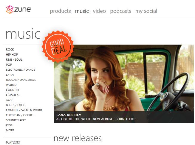 Zune Music Pass Good Deal