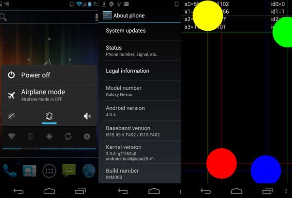 Verizon Galaxy Nexus 4.0.4 leak