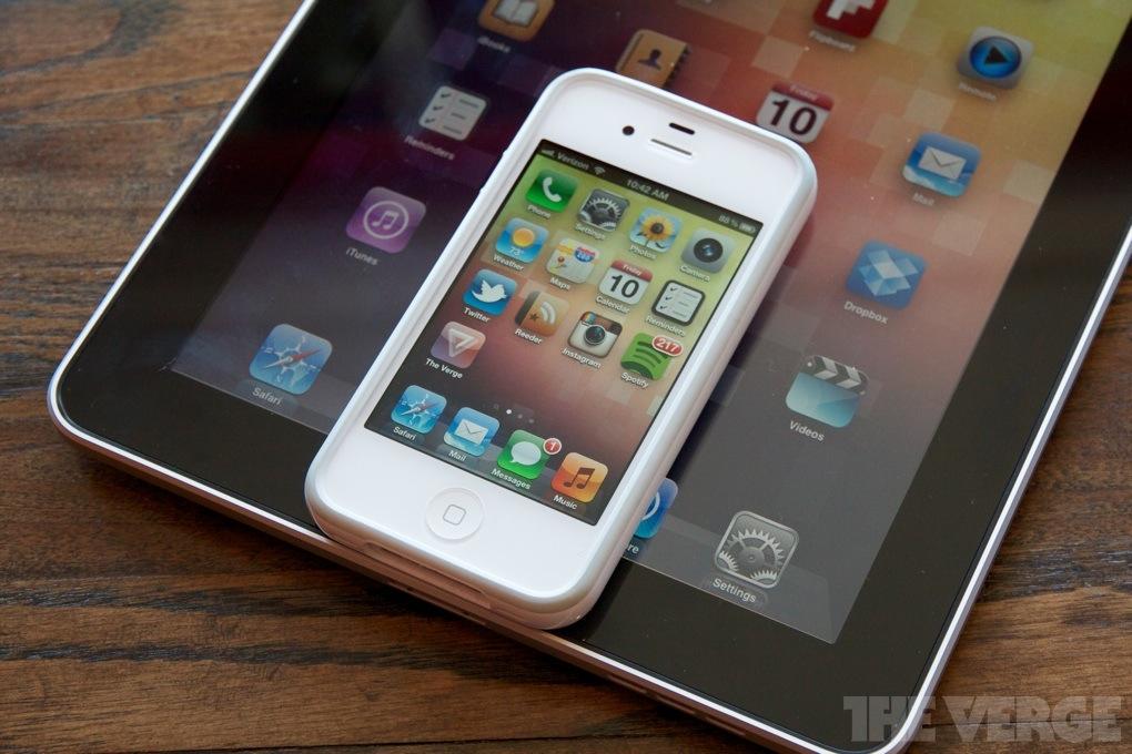 iPhone and iPad home screens