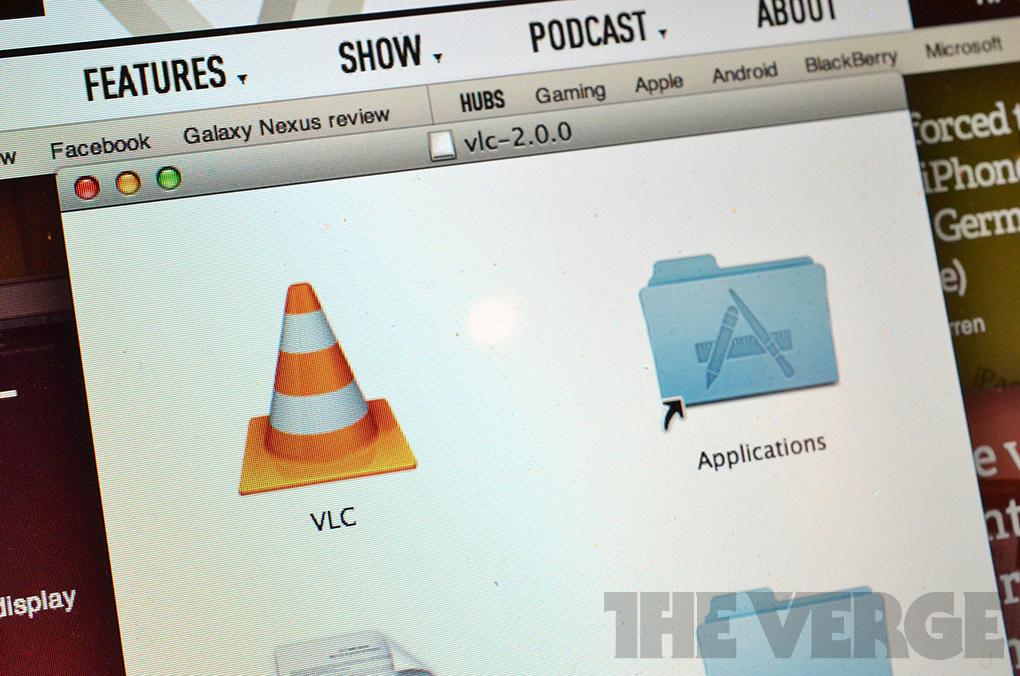 VLC 2.0 applications folder