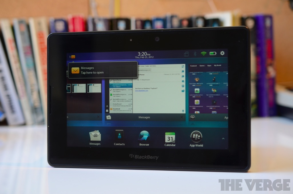 blackberry playbook rim the verge rh theverge com