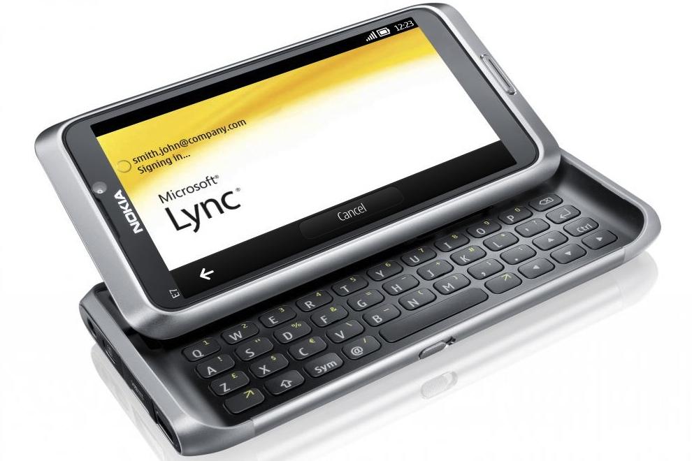 Nokia Belle Microsoft Apps Lync