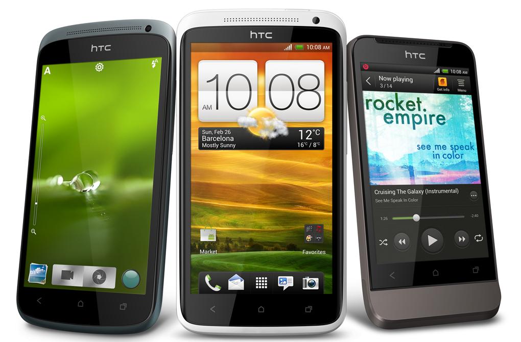 HTC One sereis of phones